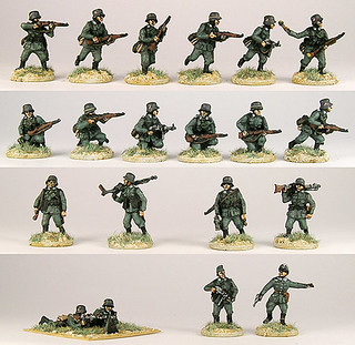 20mm Warmodelling German Infantry 1939-42 (BLITZKRIEG)