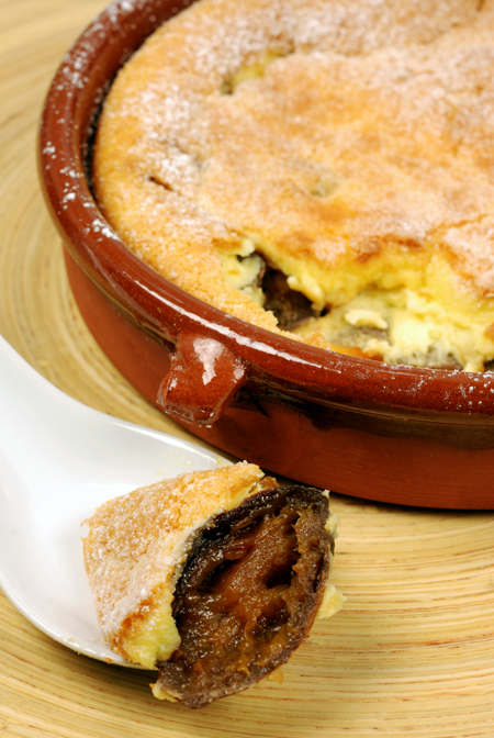 prune and Armagnac Clafoutis© by Haalo
