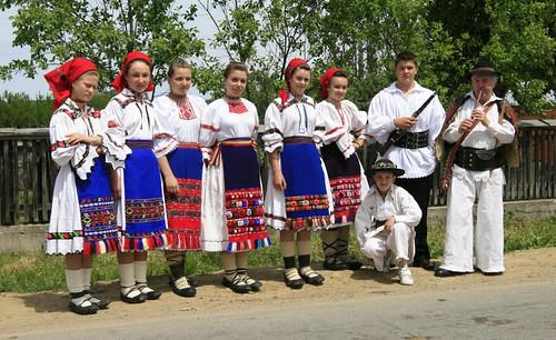 Traditional Romanian folk wear from Lăpuş, Maramureş by TudorSeulean.