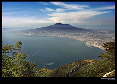 Vesuvius from Faito Mountain (FrankLloyd) Tags: sky clouds capri sorrento soe emozioni jpeggy sorrentoedintorni