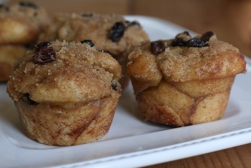 Cinnamon Raisin Pull-Apart Muffins