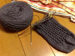 Lacy Ribs Socks(20090602)