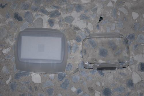 左:柔光罩 右:濾鏡托