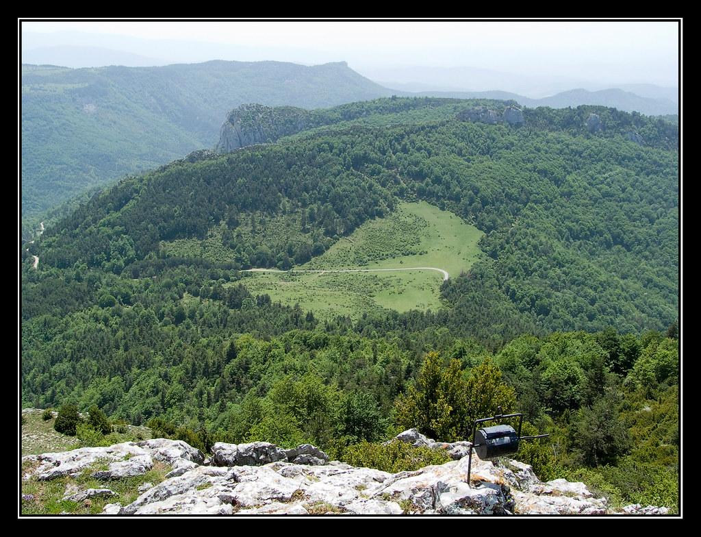 Arizgaña, Collado de Elcoaz y Aldasur desde la cima de Remendía