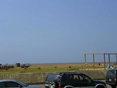 沒人的海邊