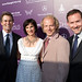 Dan Jinks and Bruce Cohen producers of American Beauty and Milk with Host Susan Harris and board member Hayward Kaiser