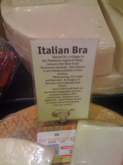 Sexy Italian cheese lingerie