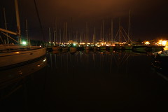 Veruda - Marina at night Photo
