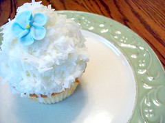 Coconut Cupcake from The Scone Pony, NJ