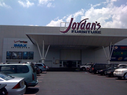 Jordan's Furniture IMAX