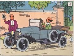 Calendrier_Tintin (oblonhead) Tags: art comics tintin calculus herge comicart