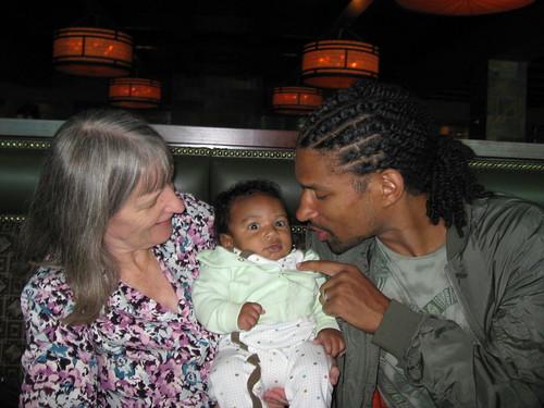 Grandma, Che', and Bosko
