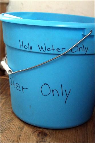 No, NOT mop water!