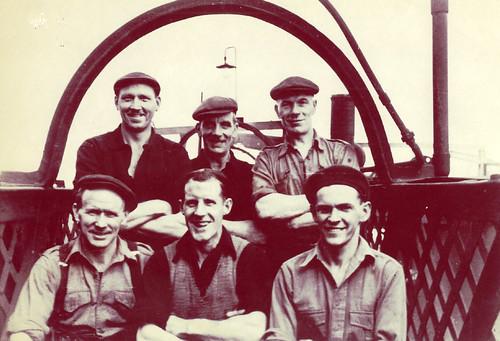 Workers,Dixon's Blazes,1958.