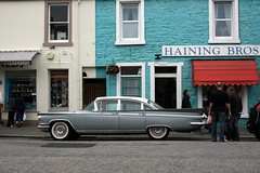 Buick Electra (Lets Bike It (Howard D Mattinson in Canonbie)) Tags: buick stock electra stockphoto stockphotography kircudbright stockfoto 1959buickelectra4drhardtop hdmattinson howarddmattinson