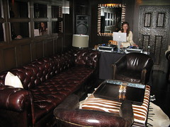 Library Bar at Hollywood Roosevelt by Caroline on Crack