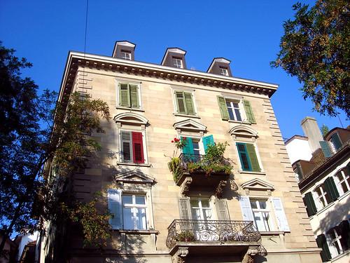 Altstadthaus in Zürich