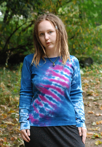 Purple Midnight tie-dye shirt