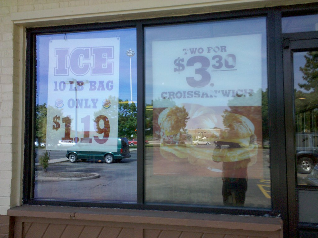 Burger King Is Selling Bags Of Ice I M Just Walkin