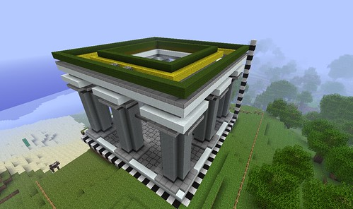 Step By Step Temple Survival Mode Minecraft Java