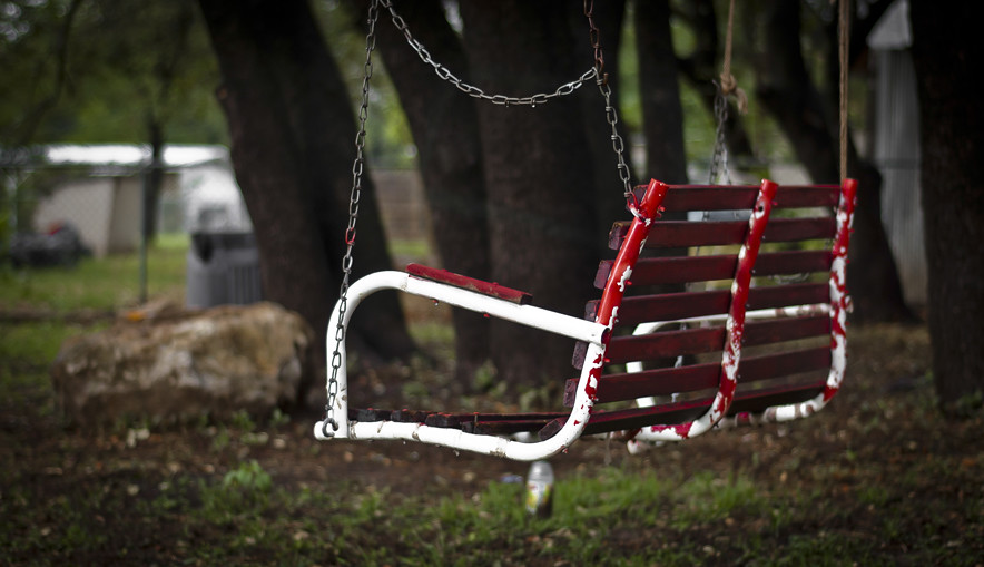 The Old Red Swing.