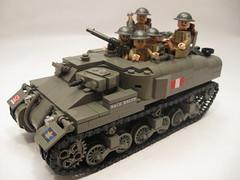 "Canadian Ram Kangaroo & armoured infantry (""Rumrunner"") Tags: world 2 infantry army war gun tank lego brodie wwii helmet lewis canadian 2nd ii kangaroo ww2 decal ww custom apc ram armour carrier worldwar2 brigade allies personnel armoured brickarms"