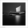 Imperial War Museum North (Ian Bramham) Tags: bw art manchester photography photo nikon long exposure image dusk north fine architect filter photograph nd salford quays daniellibeskind imperialwarmuseum d700 ianbramham 1635vr welcomeuk