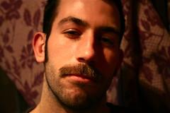 Mayer, the Early Years (Jason Andra) Tags: bear nyc newyorkcity gay friend moustache tribeca gothamist mayer