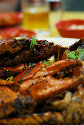Black pepper crabs - DSC_3859