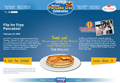 IHOP National Pancake Day on the Quicken Loans blog