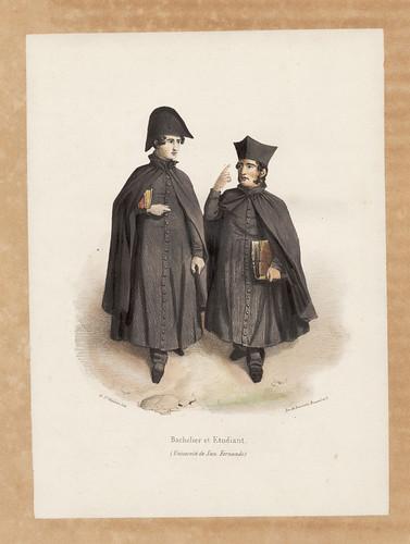 017-Bachiller y estudiante de la universidad de San Fernando en la Laguna-Tenerife 1819