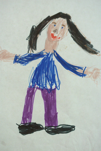 Self-Portrait - 5 YO Girl