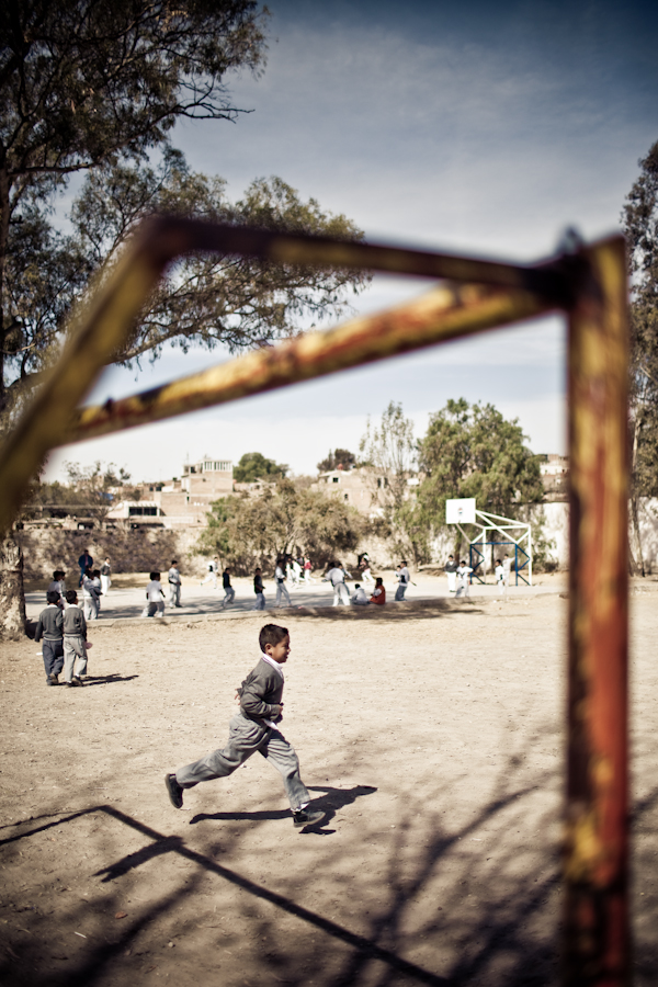 Schoolyard - Mexico