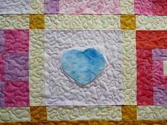 love quilt -Herz