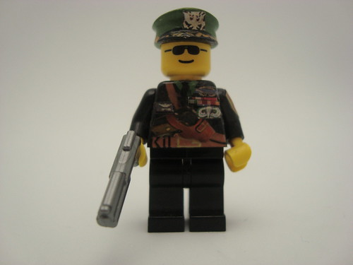 Custom minifig military general