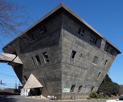MAIN HALL, INTER-UNIVERSITY SEMINAR HOUSE: Takamasa Yoshizaka, Hachioji, Tokyo, Dec. 1965 (wakiiii) Tags: japan architecture tokyo 建築 s5pro nikkor1224mmf4gifed