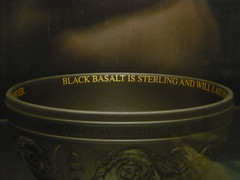 black and gold (PinkMoose) Tags: rom wedgewood fsod jasperware blackbasalt