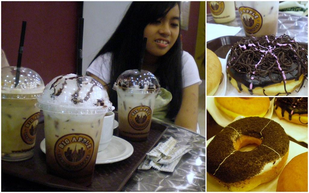 our tea time @ big apple donut & coffee
