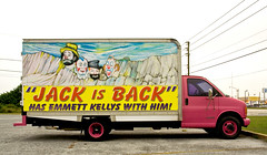 Jack's back (ericalaspada) Tags: truck jack scary florida circus roadside clowns mtrushmore lakewales highway27 emmettkelly