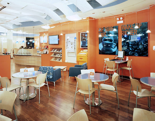 ING DIRECT Chicago Cafe