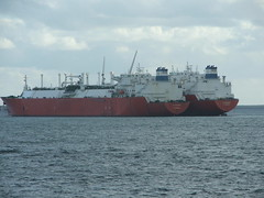 2007_0122hogmanyandtanker0010 (breeksy2002) Tags: sea water orkney ship lpg scapaflow shiptoship