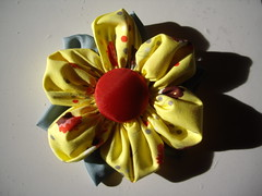 Flower Brooch Tutorial