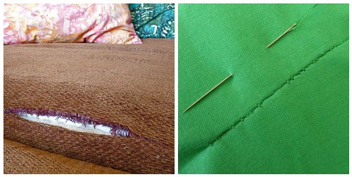 how to mend ripped upholstery and torn sheets