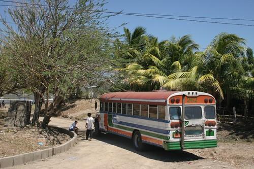 Nicaraguan bus...