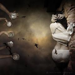 Insomnia (N) Tags: sleeping clock birds hands sleep disorder crows insomnia 300faves