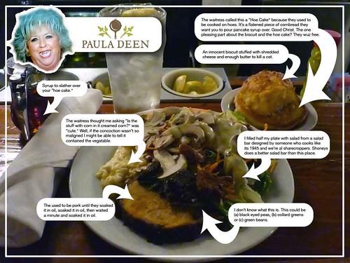My Paula Deen meal- fat fat fat fat fat