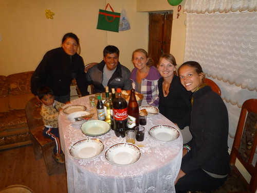Dinner party in Cusco
