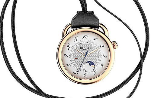Hermés Arceau Moonphase Retrograde