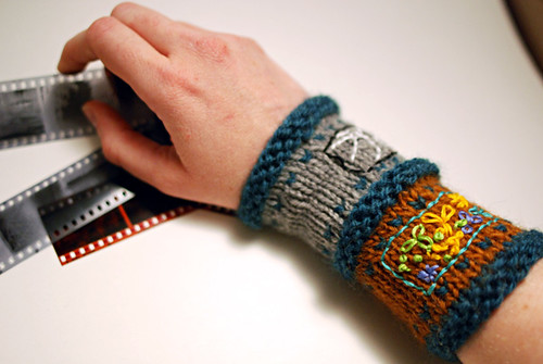 35mm film strip cuff
