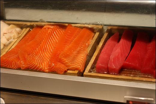 salmon-slabs